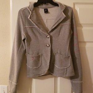 Please distressed jacket size s
